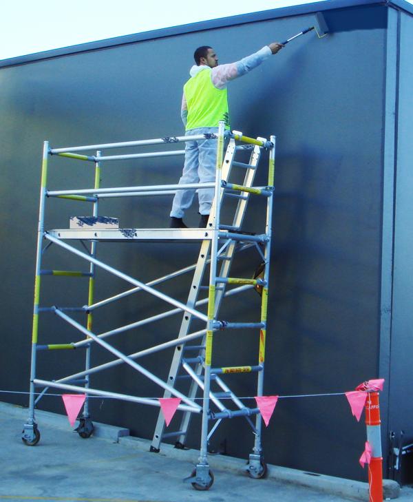 Aluminum Scaffolding Systems : Aluminium scaffolding